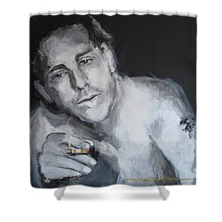 After The Fight- Into The Night Shower Curtain
