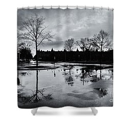 Den Haag After The Rain Shower Curtain