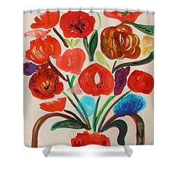 After The Rain Shower Curtain by Mary Carol Williams