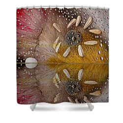 After The Rain Shower Curtain by Pepita Selles