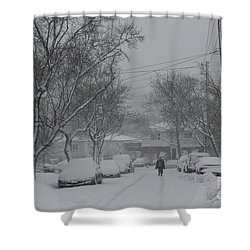 Shower Curtain featuring the photograph After The Storm by Dora Sofia Caputo Photographic Art and Design