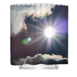 After The Storm Shower Curtain by J McCombie