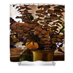 Afterglow Shower Curtain by Madeline Ellis