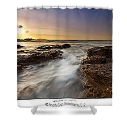 Shower Curtain featuring the photograph Afternoon Tide by Beverly Cash