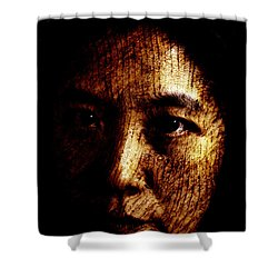 Ageless Shower Curtain by Christopher Gaston
