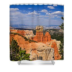 Agua Canyon Bryce Canyon National Park Shower Curtain by Greg Norrell