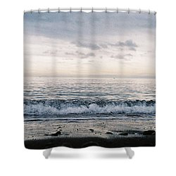 Ahhhh Shower Curtain by Cathie Douglas