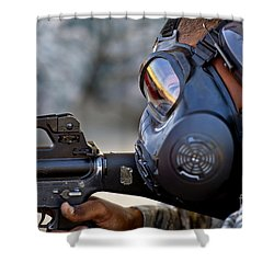 Air Force Basic Military Training Shower Curtain by Stocktrek Images