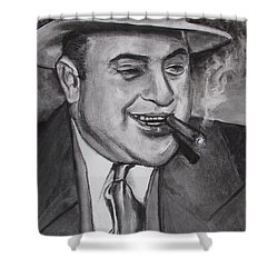 Al Capone 0g Scarface Shower Curtain