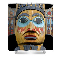 Alaska Totem Shower Curtain