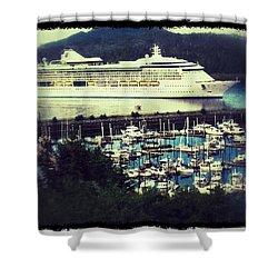 Alaskan Cruise Shower Curtain