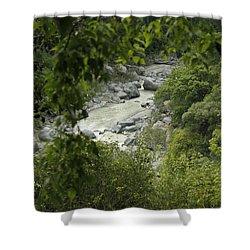 Alcantara Shower Curtain