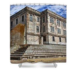 Alcatraz Cellhouse  Shower Curtain by Garry Gay