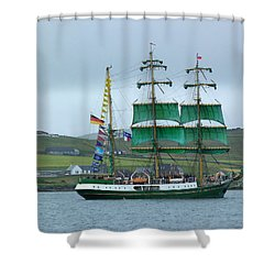 Shower Curtain featuring the photograph Alexander Von Humboldt by Lynn Bolt