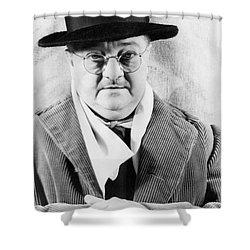 Alexander Woollcott Shower Curtain by Granger