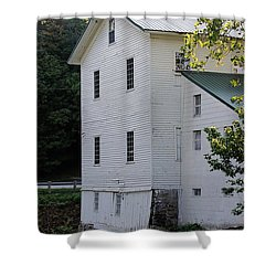 Alexanders Mill Shower Curtain by Jenny Hudson