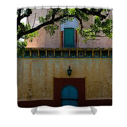 Alhambra Water Tower Doors Shower Curtain