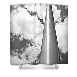 Shower Curtain featuring the photograph All About Perspective by Janie Johnson