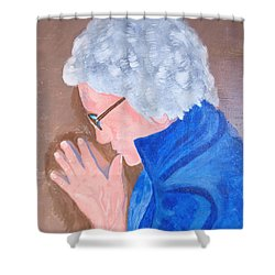 All In The Mind Shower Curtain by Lisa Brandel