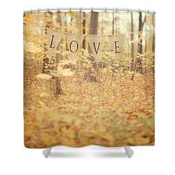 All Is Love Shower Curtain by Irene Suchocki