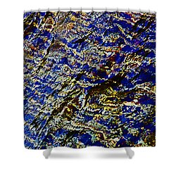 All That Glitters Shower Curtain