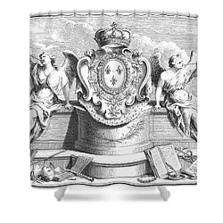 Allegory: Fame Shower Curtain by Granger