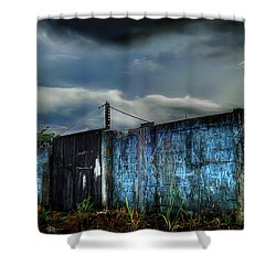 Almirante Shower Curtain by Dolly Sanchez