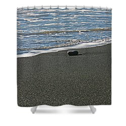 Alone Shower Curtain by Ralf Kaiser