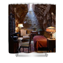 Shower Curtain featuring the photograph Al's Place II by Richard Reeve