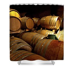 Alsace Oak Shower Curtain by Bill Lindsay