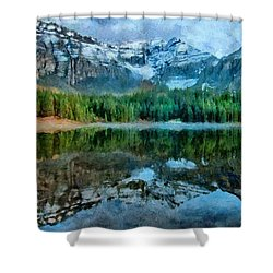 Alta Lakes Reflection Shower Curtain by Jeff Kolker