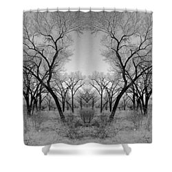 Altered Series - Bare Double Shower Curtain