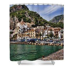 Amalfi Shower Curtain by David Smith