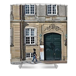 Amalienborg Palace Shower Curtain