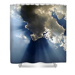 Amazing Grace Shower Curtain by Skip Willits