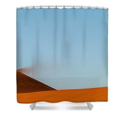 Amber Dust Shower Curtain