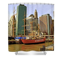 Shower Curtain featuring the photograph Ambrose by Alice Gipson