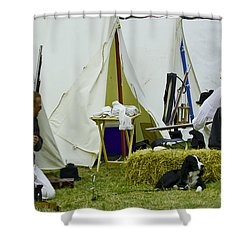 American Camp Shower Curtain