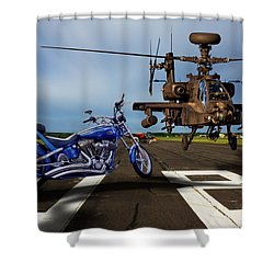 American Choppers 2 Shower Curtain
