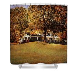 American Home Shower Curtain by Jai Johnson