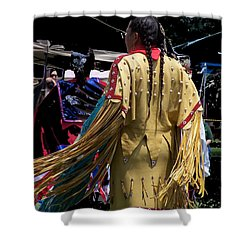 American Indian 2 Shower Curtain