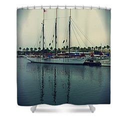 American Pride Shower Curtain by Heidi Smith