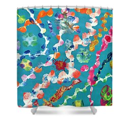 Amindra Shower Curtain by Sumit Mehndiratta