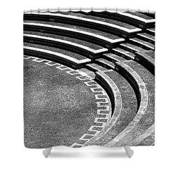 Amphitheatre Shower Curtain by Gaspar Avila