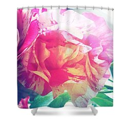 And Then The #sun Came Out #flowers Shower Curtain