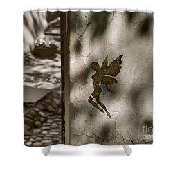 Angel Of Tallinn Shower Curtain