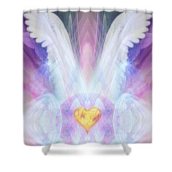 Angel Of The Innocent Shower Curtain