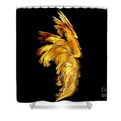 Angel Wings 1 Shower Curtain