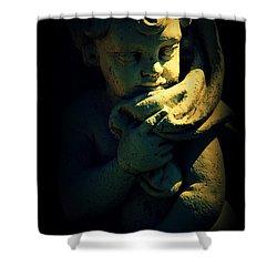 Angela Shower Curtain by Susanne Van Hulst