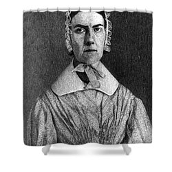 Angelina Grimk�, American Abolitionist Shower Curtain by Photo Researchers